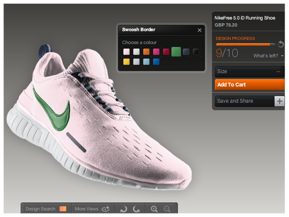 Slide for NikeID